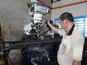 Milling, Tapping and Grinding